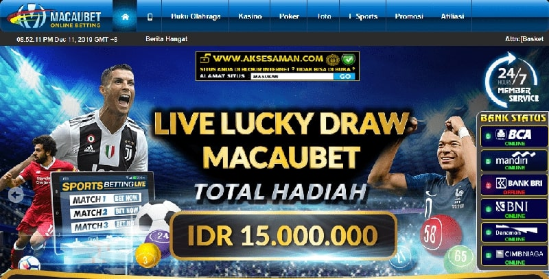 macaubet racing betting judi bola online